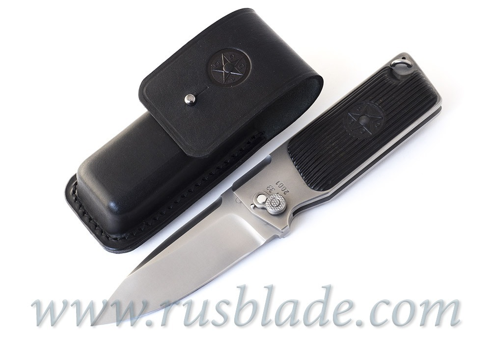 Custom Urakov TT33 440C Folding knife