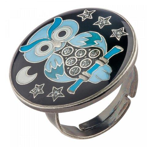 Кольцо Сова K27958 BW