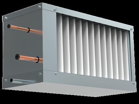 Фреоновый охладитель для прямоугольных каналов WHR-R 600*350-3