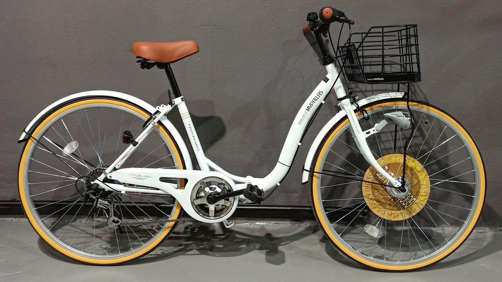 складной велосипед MyPallas M509 слоновая кость