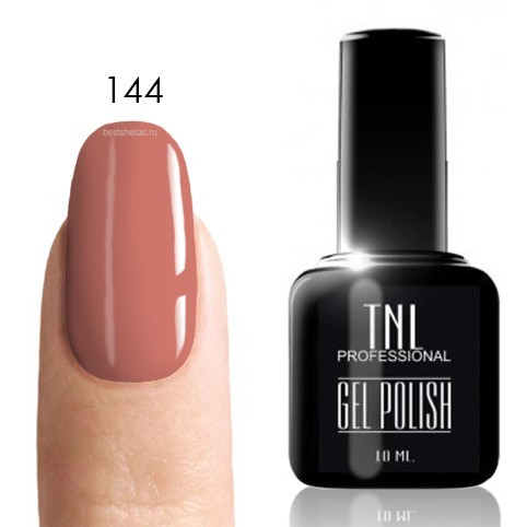 TNL Classic TNL, Гель-лак № 144 - розовый персик (10 мл) 144.jpg
