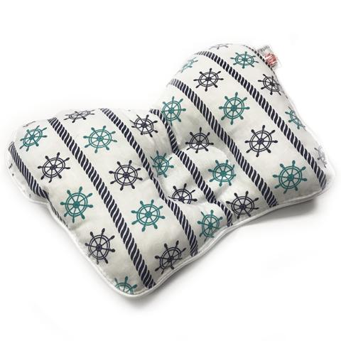 Farla. Подушка для новорожденного анатомическая Agoo Морская