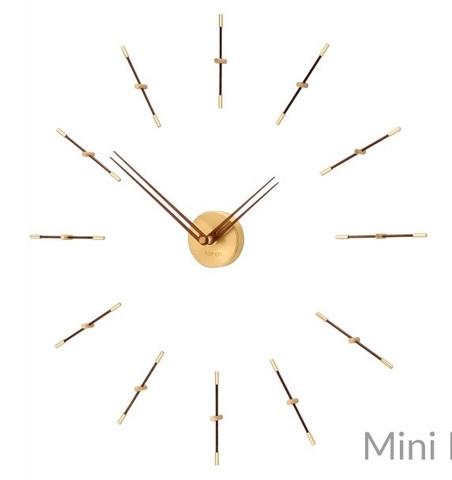 Часы Merlin N 4 хром-орех 125 cm