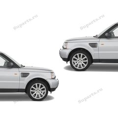 Решетки крыльев Range Rover Sport 2010