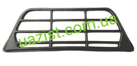 Облицовка радиатора (решетка) Уаз 452, 3303 пластиковая (бюджетная)