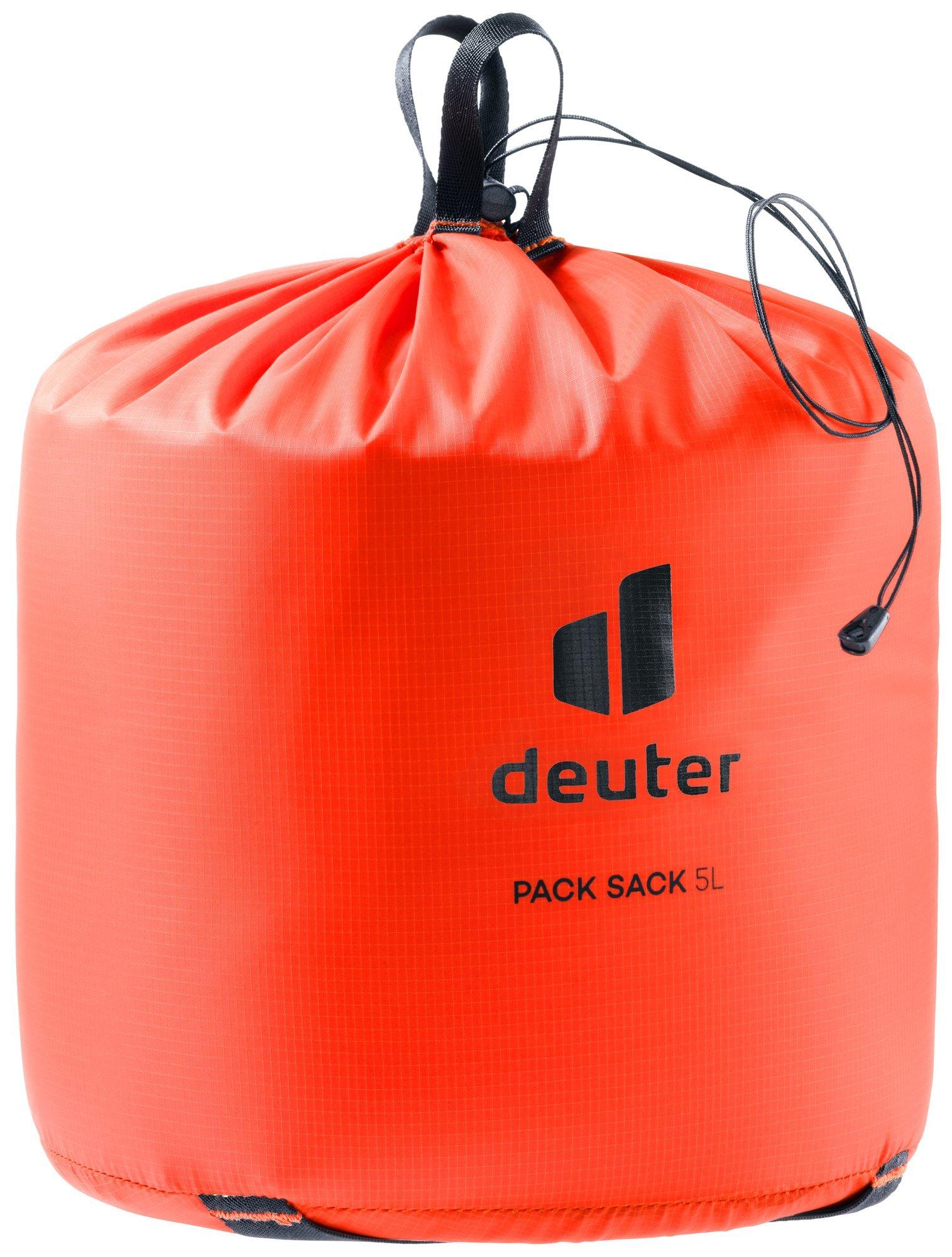 Чехлы для одежды и обуви Упаковочный мешок Deuter Pack Sack 5 (2021) 3941121-9002-PackSack5-w20-d0.jpg