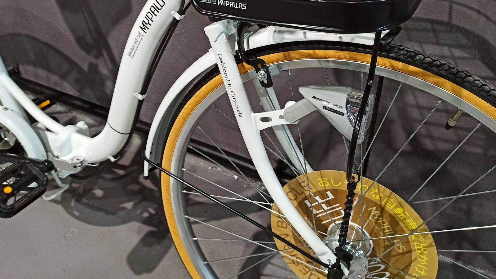 вилка переднего колеса японского велосипеда