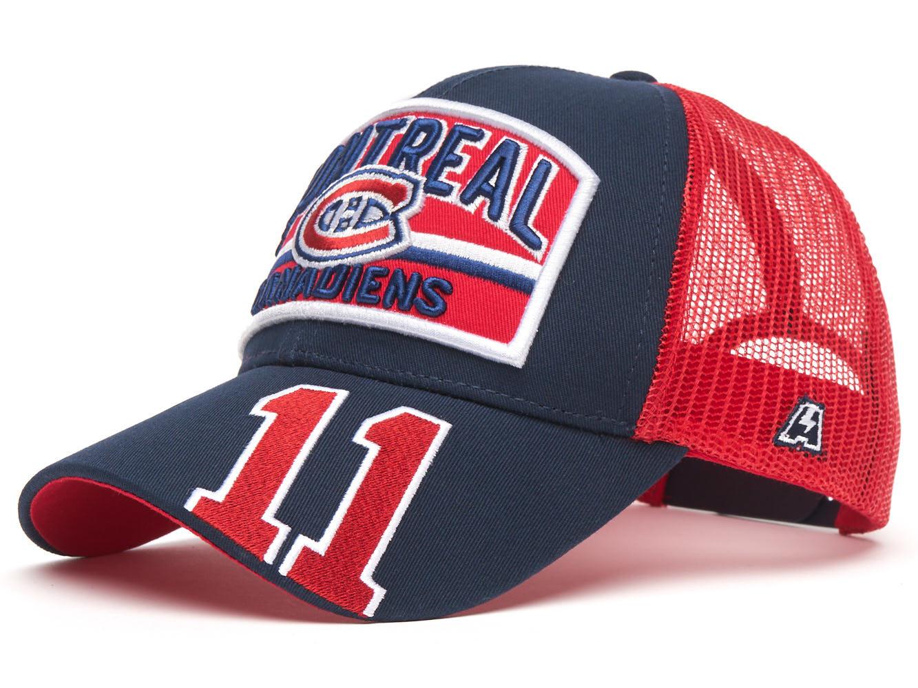 Бейсболка NHL Montreal Canadiens № 11