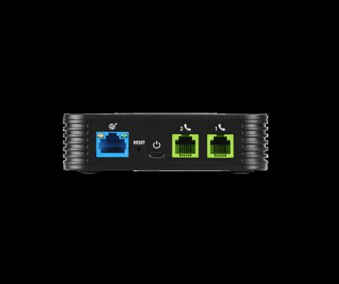 Grandstream HT802 - телефонный адаптер. 2xFXS, 1xLAN