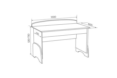Растущий стол U-nix