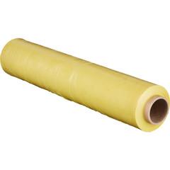 Стрейч-пленка для ручной упаковки вес 2 кг 23 мкм x 190 м x 50 см желтая (престрейч 180%)
