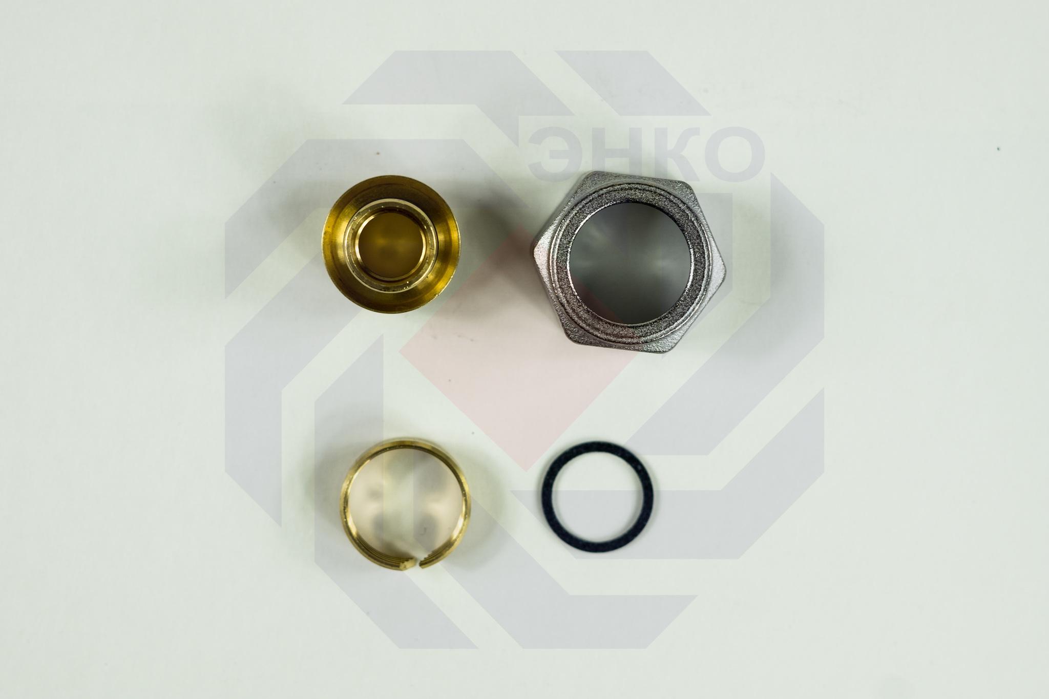 Фитинг Евроконус для труб PE-X, PE-RT, PE-X/Al/PE-X Giacomini R179E ¾