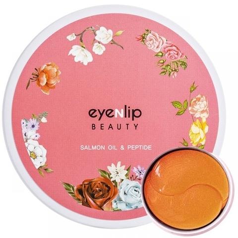 Гидрогелевые патчи для глаз Eyenlip с пептидами и лососевым маслом 60 шт