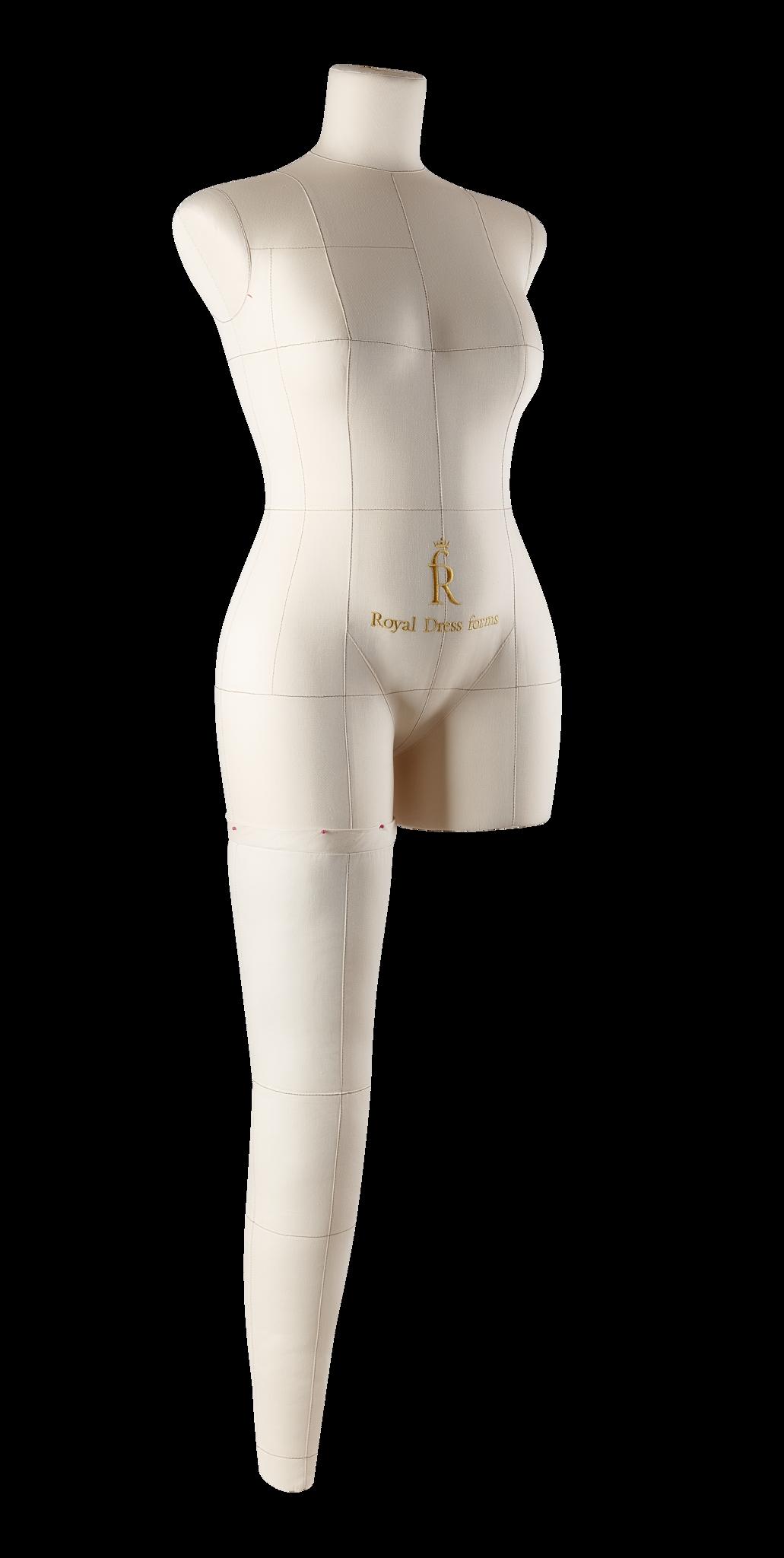 Нога бежевая для манекена Моника, размер 46Фото 1