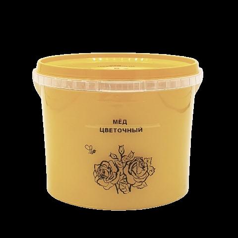 Мёд натуральный ЦВЕТОЧНЫЙ, 1 кг