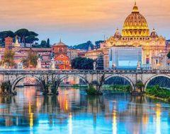 Картина по номерам Мост Ангелов Рим