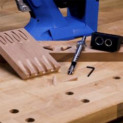 Кондуктор и сверло для заглушек для Kreg Pocket-Hole Jig 720