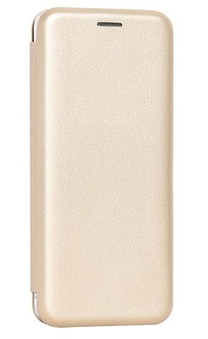 Чехол книжка для Xiaomi Redmi GO золотой
