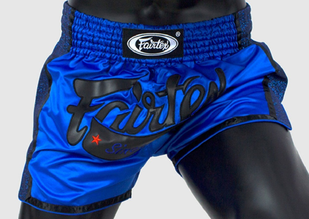 Шорты Шорты Fairtex Muaythai Shorts BS1702 Blue 1.jpg