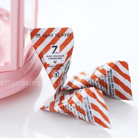 MAY ISLAND Secret Vita Plus-10 Sleeping Pack  Набор ночных масок для лица  12шт