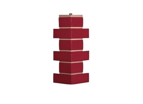Угол наружный Керамит - Красный