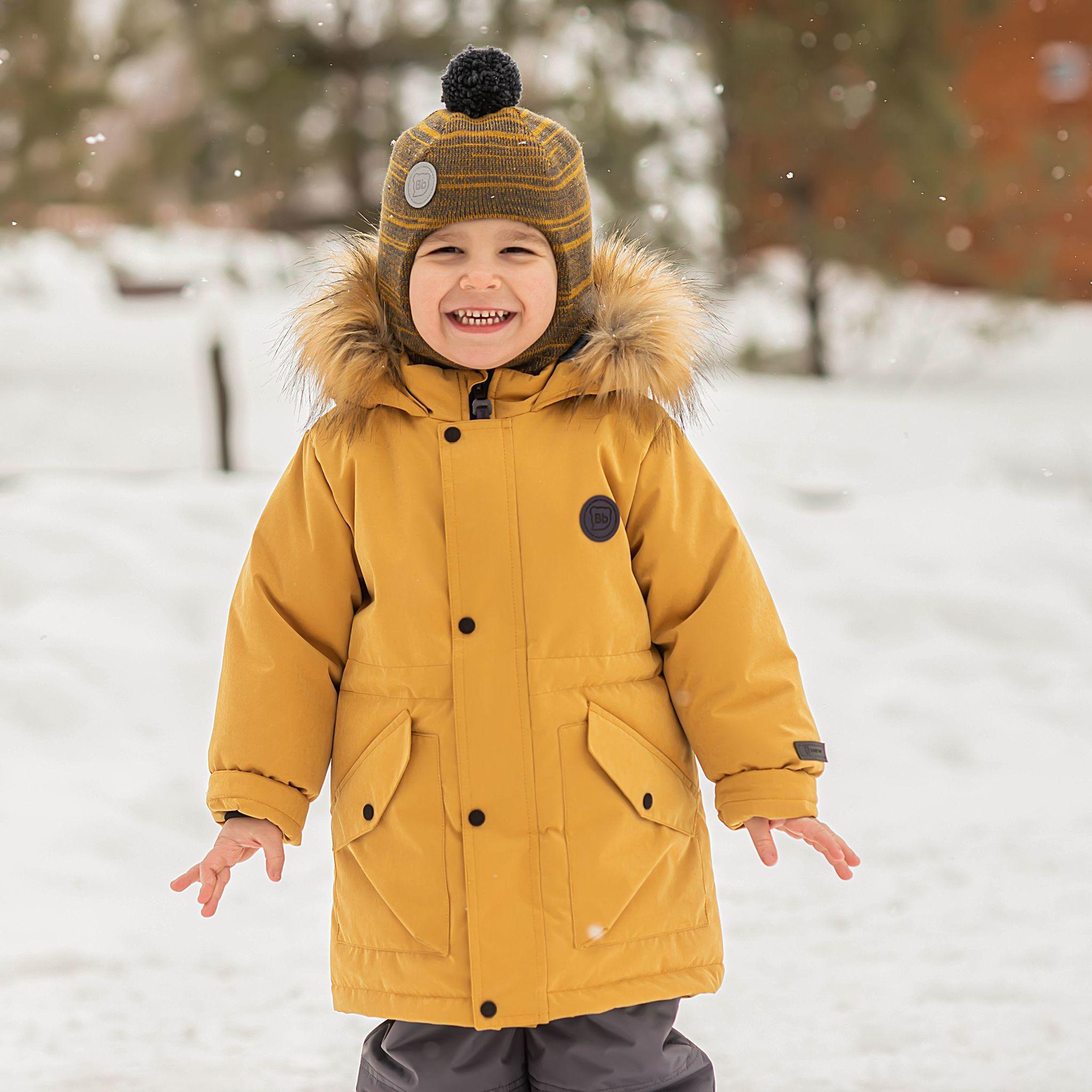 Winter membrane parka - Mustard