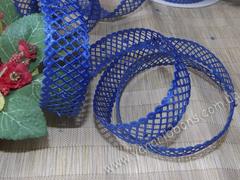 Лента-сеточка синяя ширина 22 мм