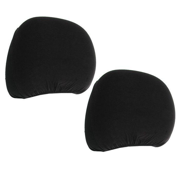 Чехлы на подголовники Forma 410 (черные)
