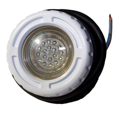 Подводный светильник встраиваемый PA01810, LED, ABS-пластик, RGB,1,5Вт для сборно-разборных бассейнов и СПА POOLKING
