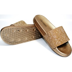 Летние шлепанцы J.B.P. Shoes NU25 Gold.