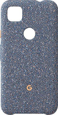 Чехол Google Pixel 4a Fabric Case, Blue Confetti (Голубой)