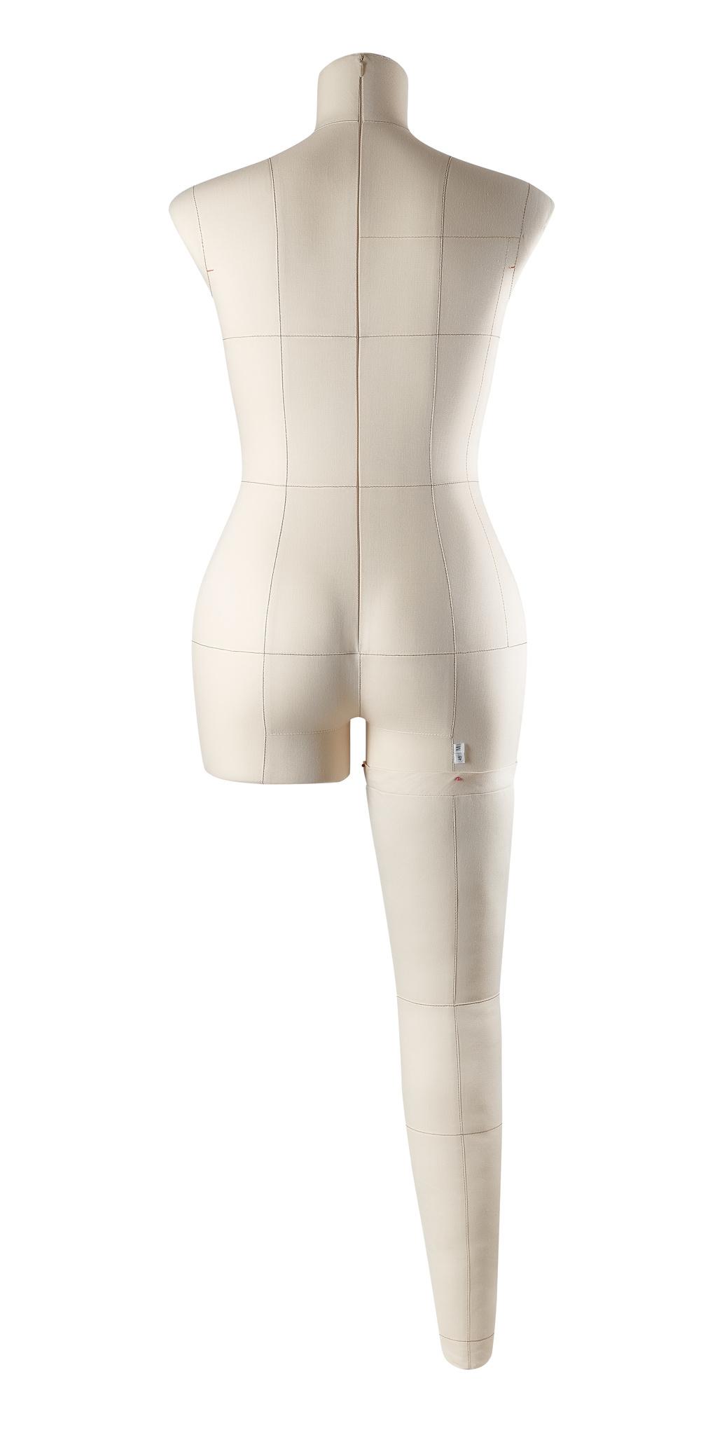 Нога бежевая для манекена Моника, размер 46Фото 3