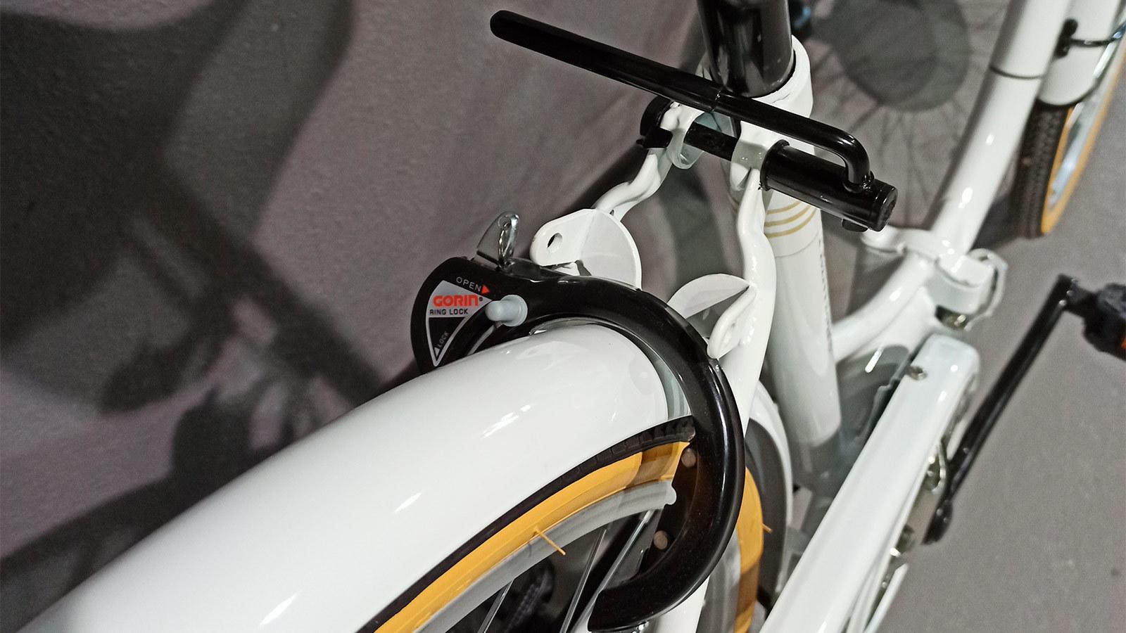 крыло заднего колеса складного велосипеда