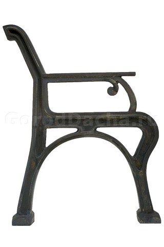 Комплект чугунных опор для скамейки «Ретро»