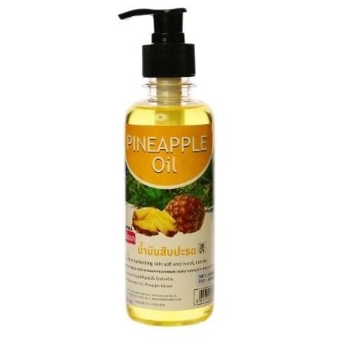 Ананасовое масло для тела Banna PINEAPPLE Oil с дозатором, 250 мл
