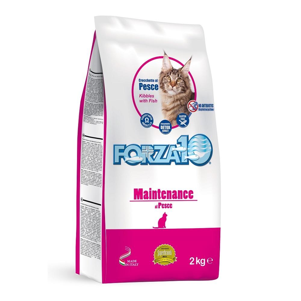 купить FORZA10 Maintenance CAT Pesce сухой корм для взрослых кошек на основе рыбы 500 гр