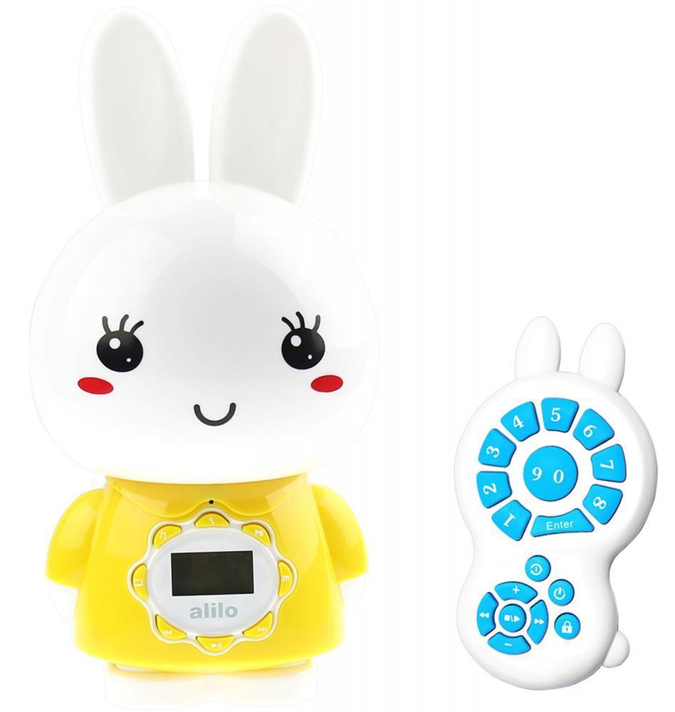 Alilo игрушка музыкальная Большой зайка G7 желтый