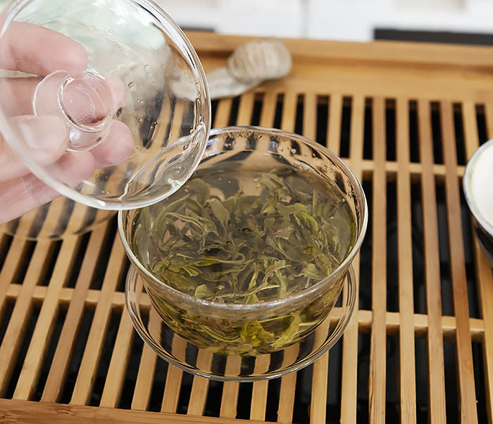 TEA-CH102 Китайский зеленый чай «Ворсистые Пики» (Сы Мао Мао Фэн, 50 гр) фото 10