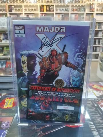 Major X. Variant Cover (c автографом Rob Liefeld)