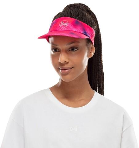 Спортивный козырек от солнца Buff R-Shining Pink фото 2
