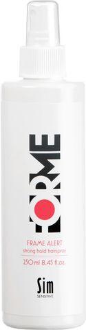 FORME Frame Alert Strong Hold Hair Spray жидкий лак сильной фиксации для укладки волос 250мл купить за 1190руб