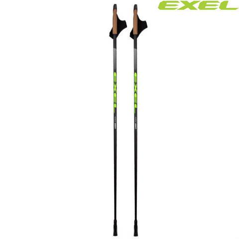 Скандинавские палки EXEL Nordic Avanti OEB QR Carbon 75%