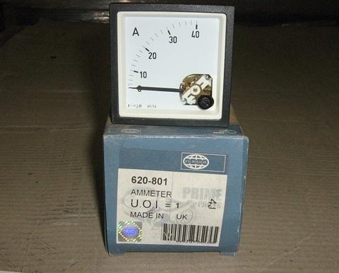 Амперметр 0-40А / AMMETER АРТ: 620-801