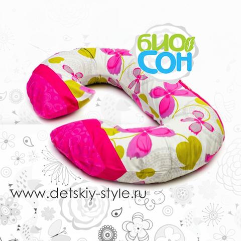 """Дополнительная Наволочка БиоСон """"Рогалик"""" 340х35 см"""