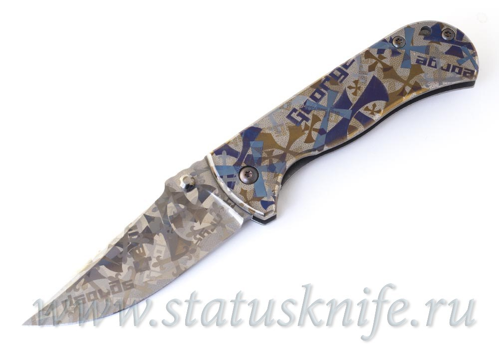 Нож Talos Custom CTS-XHP Les George