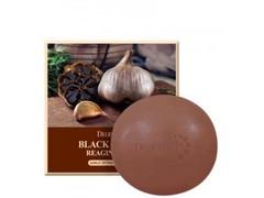 Мыло для очищения лица Deoproce с экстрактом чёрного чеснока 100 гр