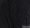 Пряжа Himalaya Everyday Bebe Lux 70418 (чёрный)
