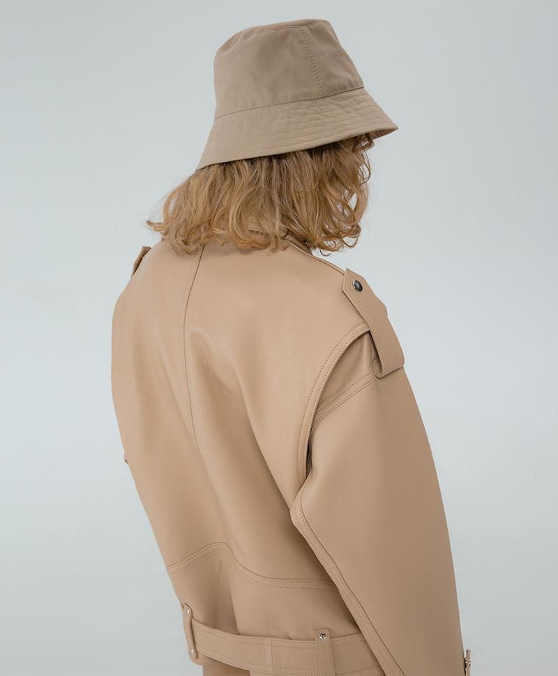 Кожаная куртка Desert Oversize Jacket