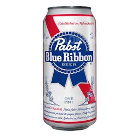 Pabst Ribbon Blue / Пабст Риббон Блю (светлое пастеризованное фильтрованное)
