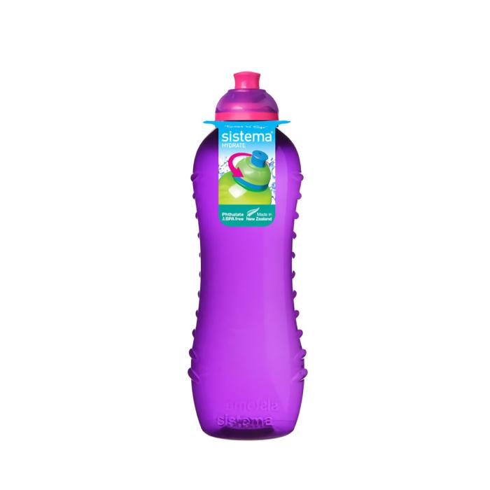 """Бутылка для воды Sistema """"Hydrate"""" 620  мл, цвет Фиолетовый"""